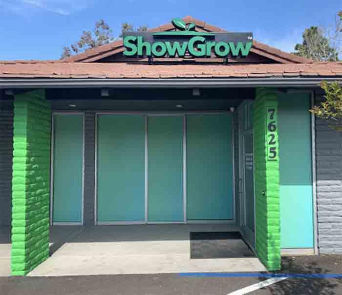 ShowGrow Dispensary entrance